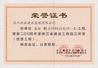 2004华侨钱江杯